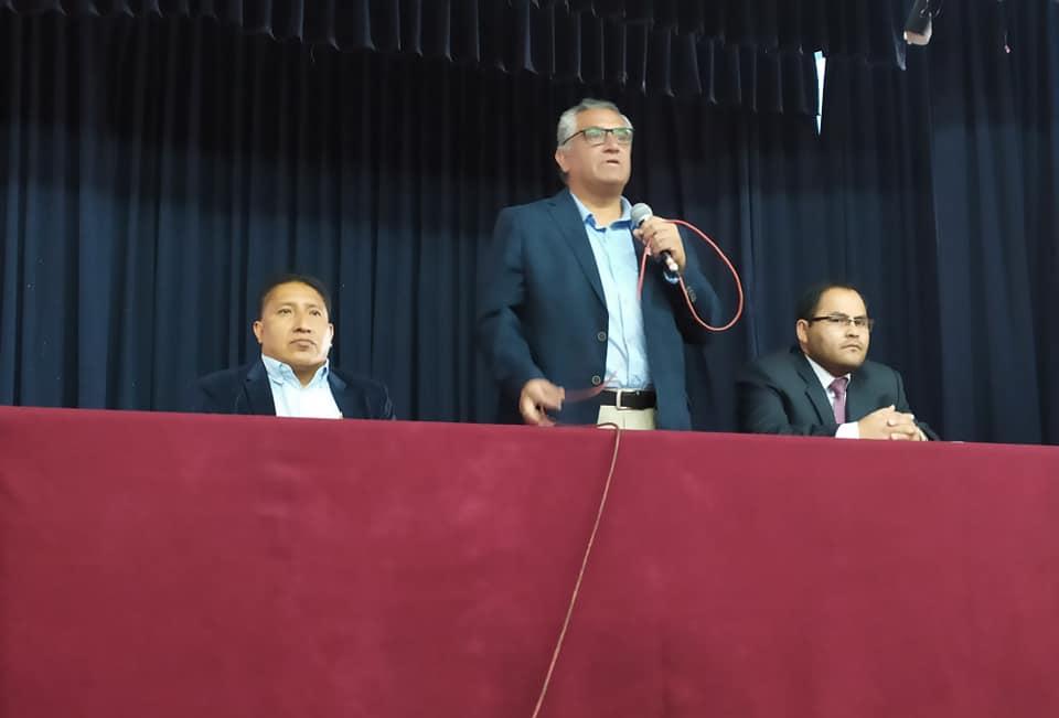 UGEL Cajamarca capacita a 213 docentes en fotalecemiento de los protocolos y asistencia legal.